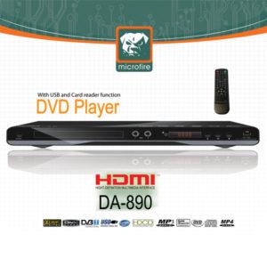 دی وی دی میکروفایر – مدل : DA-890